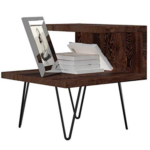 QuRRong Wandplank Eenvoudige serie Wit Eiken Europese Opbergkast Moderne Effen Houten nachtkastje Multifunctionele Wandmontage Zwevende plank