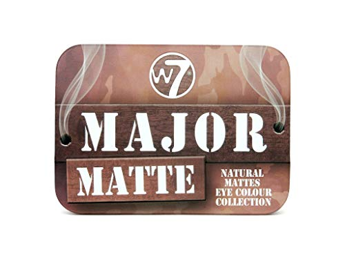W7 | Eye Shadow | MAJOR MATTE TIN COVER