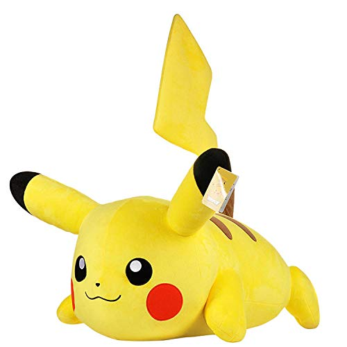 Pluche Pikachu Zithouding 70cm Grote Knuffel Lappenpop PokéMon Kussenliggende Houding_20cm