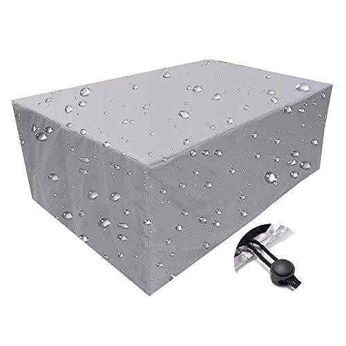 Q&Z Funda Protectora para Muebles De JardíN,Impermeable Cubierta Protectora Exterior Resistente Al Polvo Fundas para Mesa Jardin Rectangular para Mesa Sillas SofáS Exterior