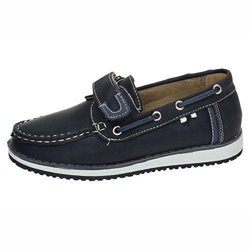 BONINO NS599A-18 Mocasines DE BONINO NIÑO Zapatos MOCASÍN Azul 32