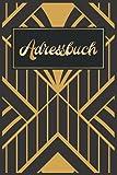 Telefonbuch Adressbuch A5: Telefon Registerbuch & Sozial Media Passwort Book- A5 Register || Golden Telefonbuch Senioren Große Schrift 70 Geburtstag Geschenke Frauen