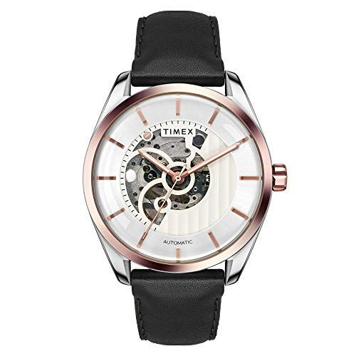 Timex Automatic Analog Silver Dial Men's Watch-TWEG17502