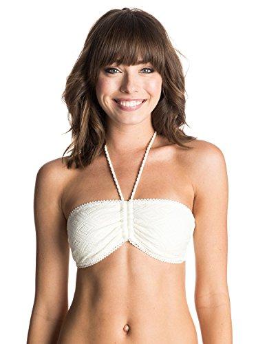 Roxy Bikini Hazy Daisy Bandeau Bikini Top