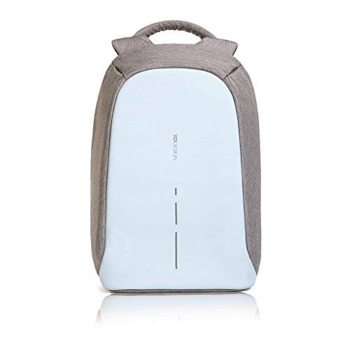 XD Design The Original Genuine Bobby Compact antifurto Zaino Anti Theft Backpack,Pastel Blue