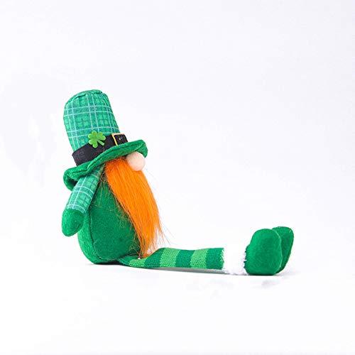 Conejo enano de Pascua, muñeca de elfo enano, adorno de muñeca de elfo, decoración de interior del hogar, decoraciones de fiesta de Pascua B