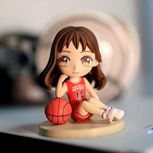 Slam Dunk Master Xiangbei Seduta Postura Akagi Haruko Amore Testa Q versione 8cm (3 152in) Boxed / PVC Statua Statua Statua Statua / Cartoon figura Anime / giocattolo Carattere Bambb