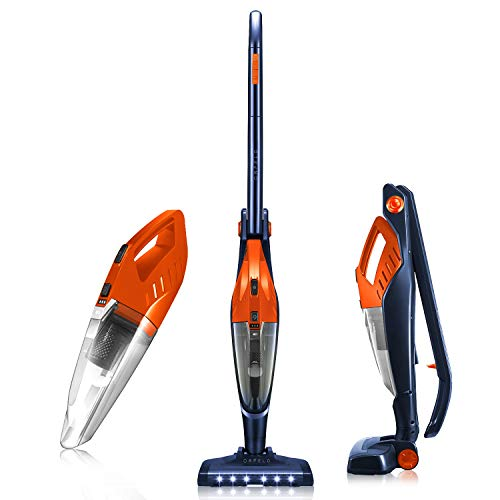 ORFELD Cordless Upright Vacuum Cleaner, Up to 40 Mins Runtime