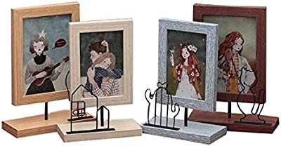 JIGMELIEN Modern Photo Frame Wooden Beauty Girl Wedding Pictures Frames Wood Porta retrato Home Decoration Cadre