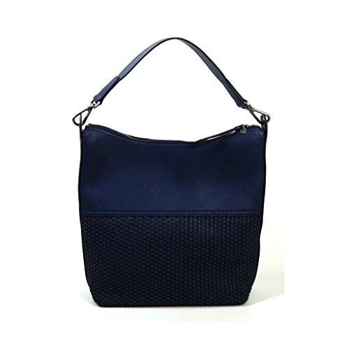 ESPRIT Skylar Hobo Blau Damen Handtasche Tasche Henkeltasche Handtaschen Taschen Damenhandtasche Städte Sommer