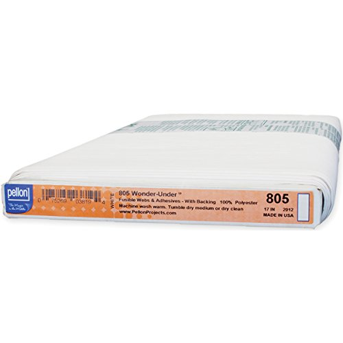 Pellon 805 Wonder Under Fusible Web- 17 Inch W x 35yds White