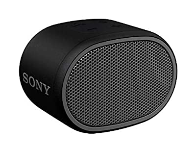 Sony SRS-XB01 Compact Portable Water Resistant Wireless Bluetooth Speaker with Extra Bass - Black from Sony