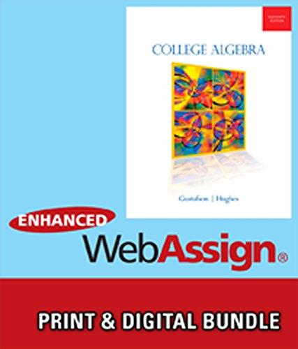 Bundle: College Algebra, 11th + WebAssign Printed Access Card for Gustafson/Hughes' College Algebra, Single-Term