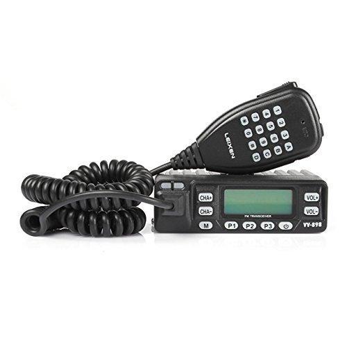 LEIXEN VV-898 - Ricetrasmettitore da Auto, Dual Band, VHF/UHF, DTMF, 10 W,...