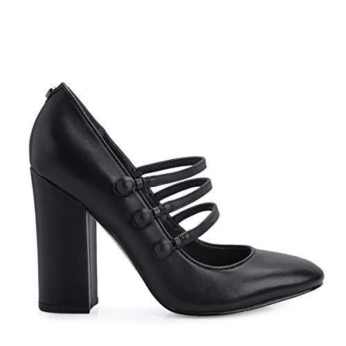 Guess , Damen Outdoor Fitnessschuhe schwarz schwarz 41, schwarz - schwarz - Größe: 37