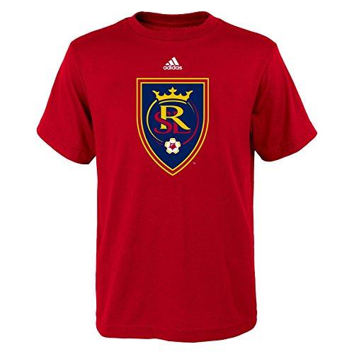 MLS Real Salt Lake Boys 8-20 Primary Logo Short Sleeve Tee, Red, X-Large