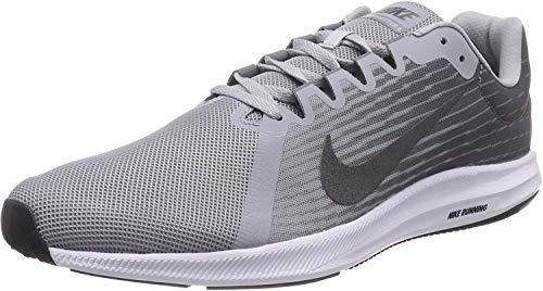 Nike Downshifter 8 (PSV), Zapatillas de Deporte para Niñas, Gris (Light Carbon/Metalli 002), 32 EU