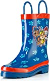 Nickelodeon Paw Patrol Boys Rain Boots - Size 10 Toddler Blue\red
