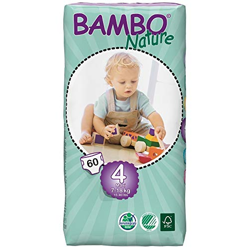 Bambo Natuur (15-40lb / 7-18kg) Eco luiers
