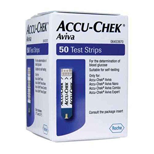 Accu Chek Aviva Glucose-Teststreifen, 50 Stück