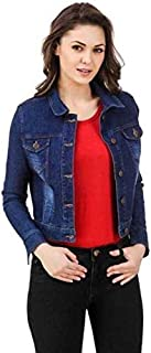 Funday Fashion Full Sleeve Solid Women's Denim Jacket