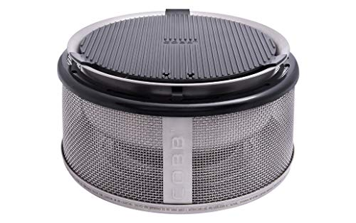 Cobb Grill Holzkohlegrill, Easy to go, silber, 30 x 30 x 17.5 cm, 900