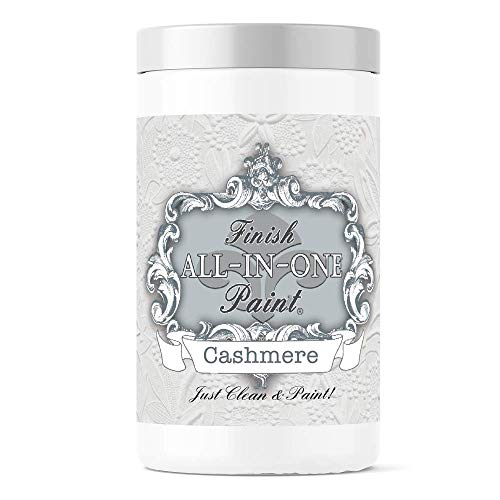 Cashmere (true white), Finish All-In-One Paint 32oz Quart
