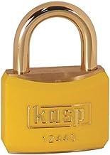 Kasp K12440YELD hangslot, gekleurd/geel