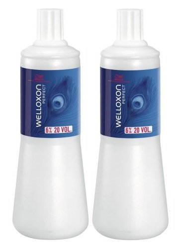 Wella 6 % Welloxon Perfect 2 x 1000 ml H2O2 Peroxid 20 Vol. Oxidationscreme