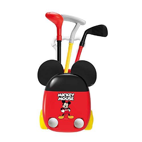 nobrands Sports Park 39D Regalos Navideños En Interiores para Niños Interacción Entre Padres E Hijos Al Aire Libre Fitness Ball Toys Simulación Golf Club Set Gift G1801-DS Mickey Golf