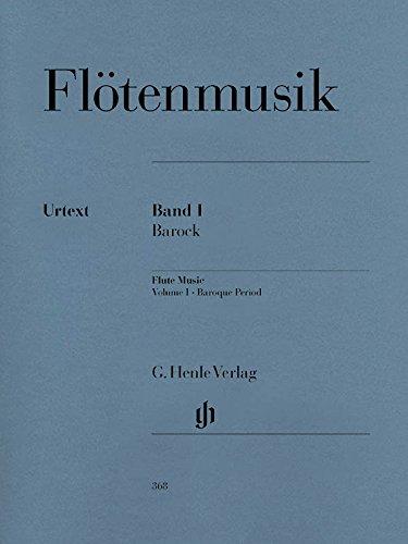 Flötenmusik des Barock Band 1. Flöte, Klavier