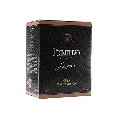 Soprano Primitivo Puglia IGT - Italienischer Rotwein -trocken- 5,0L BIB