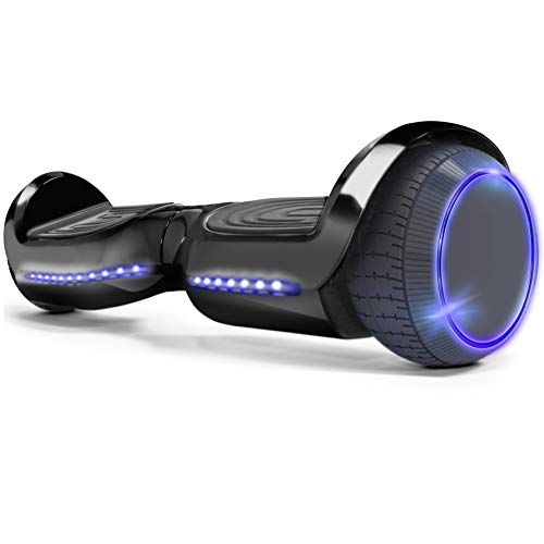 XtremepowerUS 6' Self-Balancing Hoverboard LED Light Bluetooth Speaker...
