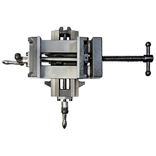 Check Out This DBM IMPORTS 3 X-Y Compound Cross Over Slide Sliding Drill Press Vise Milling Drillin...