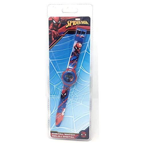 Spider-Man Spiderman Reloj Digital (MV15534), (Kids Licensing 1)