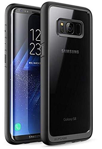 SUPCASE Unicorn Beetle estilo Galaxy S8 Caso, Premium híbrido protectora funda transparente para Galaxy S8 2017 liberación (Negro)