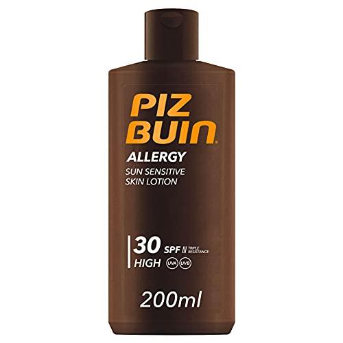 Piz Buin, Allergy Protector Solar en Loción SPF 30, Protección