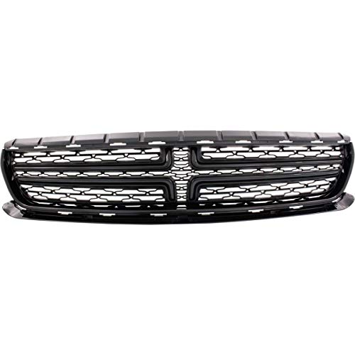Grille For 2015-2016 Dodge Charger Without chrome molding and hood scoop