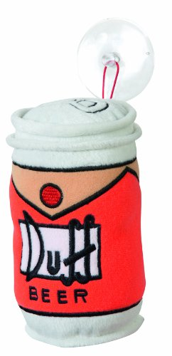 United Labels 0109484 - Kissen mit Saugnapf Duff Beer Simpsons