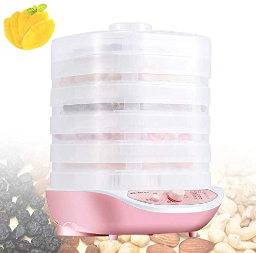 Find Bargain 250W Food Dehydrator Trays Of 5 BPA, Touch Temperature Control And Timer Adjustable, Me...
