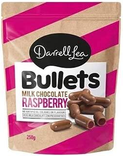 Darrell Lea Raspberry Milk Bullets 250g x 12