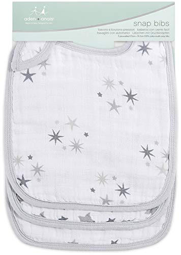 Aden and Anais - 7106G - Bavoir Twinkle Gibble Snap