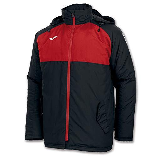 Joma Anorak Andes Negro-Rojo, Hombres, Negro-Rojo-106, XL