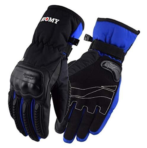 Invierno Caliente Guantes De Motociclismo Impermeable Y A Prueba De Viento Pantalla Táctil Luva Motociclista Luvas Moto-A45-Xxl