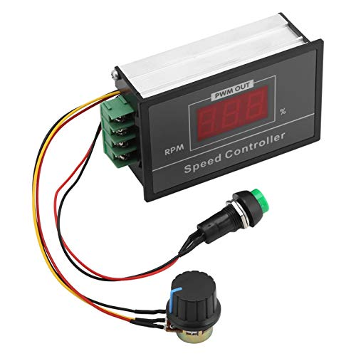 Controlador de velocidad del motor de Controlador de velocidad Interruptor de arranque y parada Potenciómetro de interruptor de freno de avance y retroceso 6-60V 12V 24V 36V 48V 30A PWM