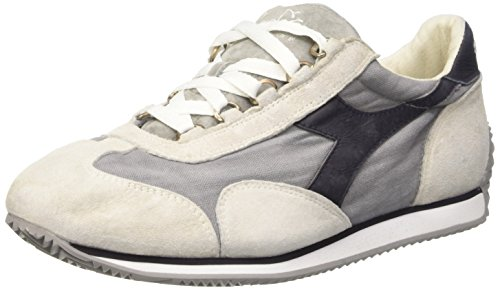 Diadora Unisex-Erwachsene Equipe Stone Wash 12 Pumps, Bianco (White/Dk Smoke), 40.5