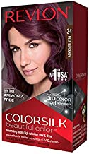 Revlon ColorSilk Haircolor, Deep Burgundy, 1 Count