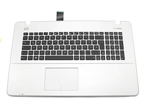 ASUS F751LX Original Tastatur inkl. Topcase DE (deutsch) schwarz/Silber