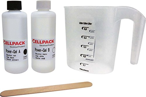 Cellpack CEL335120 PowerGel Pro zum Abdichten von elektrischen Anlagen, 400ml