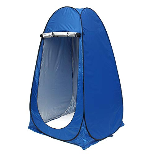 Générique Tente de Camping pour 1-2 Personnes - Portable - Pare-Soleil - Étanche - Protection UV - Camouflage Linabind, Bleu
